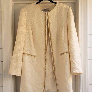 Tahari Tweed Topper Coat